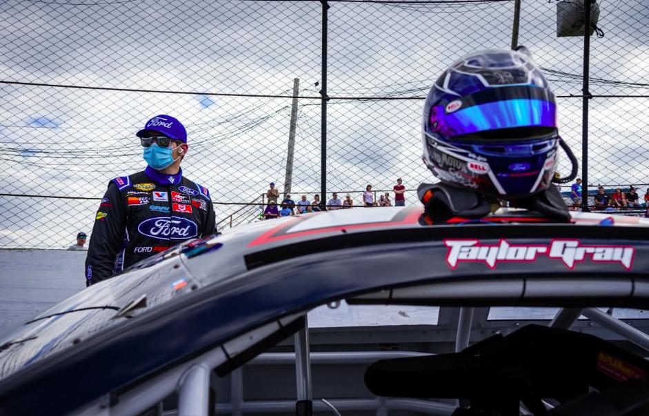 NASCAR: Súlyosak Taylor Gray sérülései