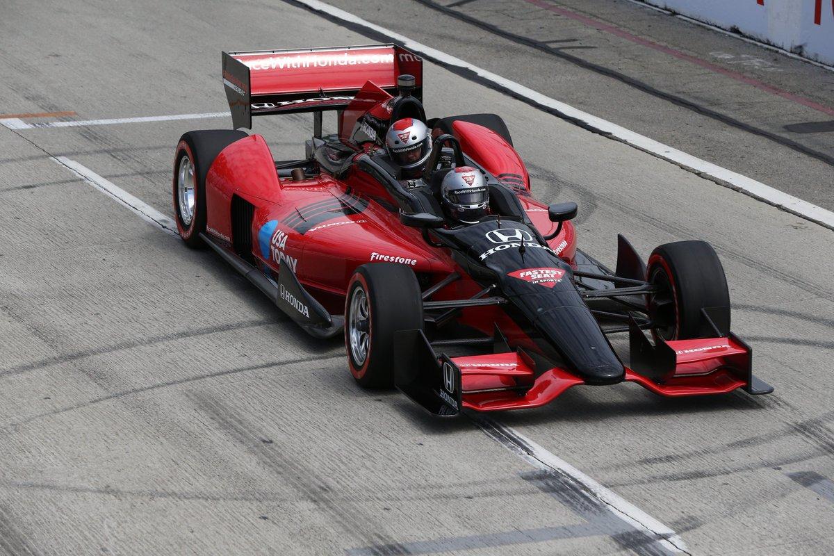 A Honda kiszáll az IndyCar kétüléses programjából