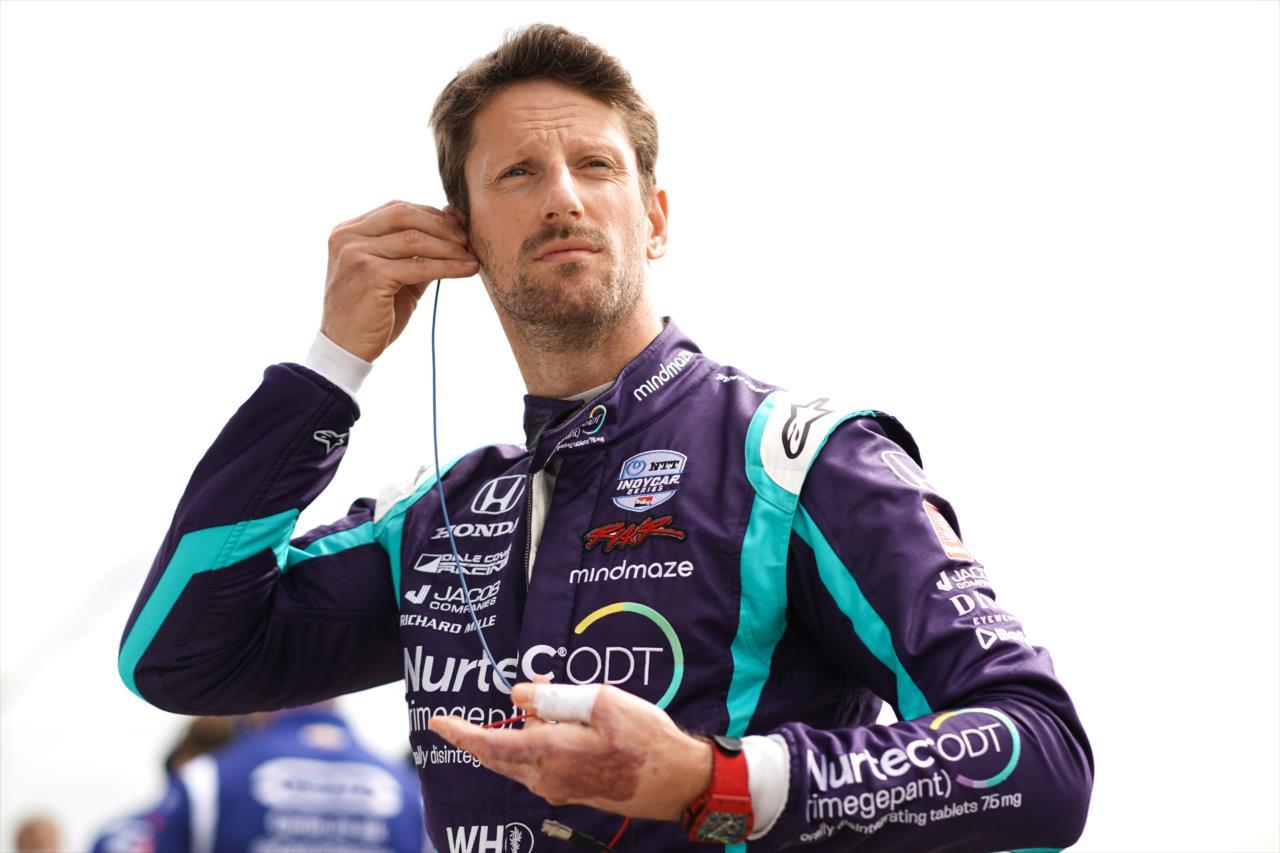 Egyelőre elmarad Romain Grosjean Mercedes-tesztje