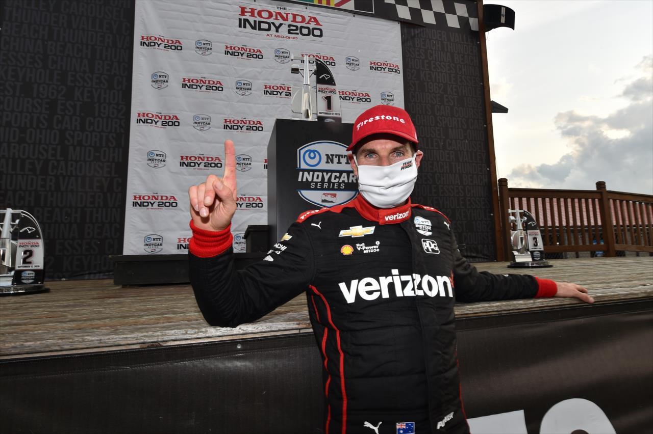IndyCar: Egy év után újra győzött Will Power