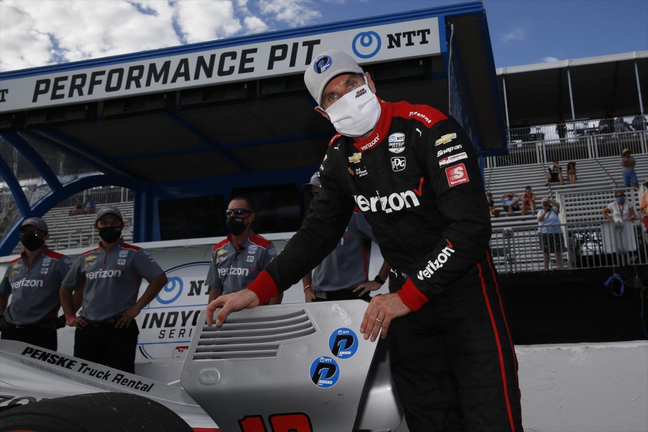 IndyCar: Power nyerte a kaotikus, St. Pete-i időmérőt