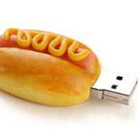 USB hotdog és burger
