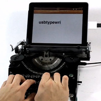 USB írógép