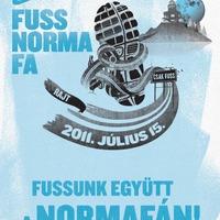 Fuss Normafa előkészületek
