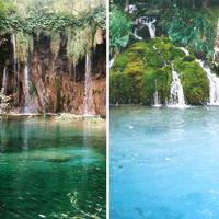 A mesében nincs ilyen, de a Plitvicei-tavaknál mégis van!