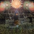 Top 10 újévi fény az éjszakában