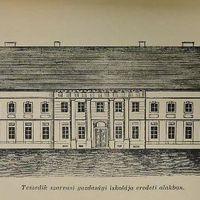 Anekdota Tessedik gazdasági iskolájának épületéről
