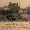 Geotúrák a somoskői várromhoz a 19. század végén, 20. század elején