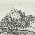 Séta a bujáki várromnál az 1860-as években