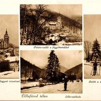 Ilyen volt a tél Lillafüreden 9 évtizeddel ezelőtt