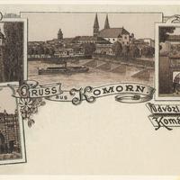"""Komárom, a """"csehek dunai kikötővárosa""""?"""