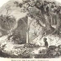 Ilyen volt a szentléleki pálos kolostor 1860-ban