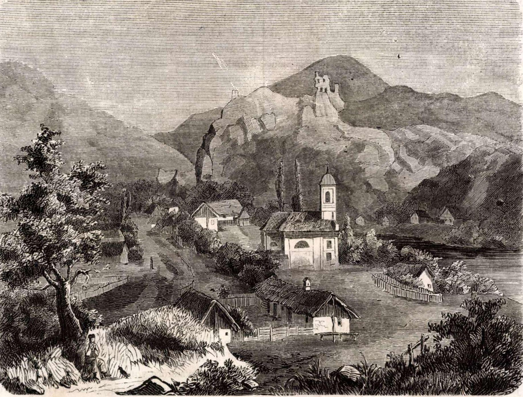 Kirándulások Szarvaskőre a 19. század közepén