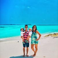 Maldív-szigeteki kalandozások várandósan, kisbabákkal