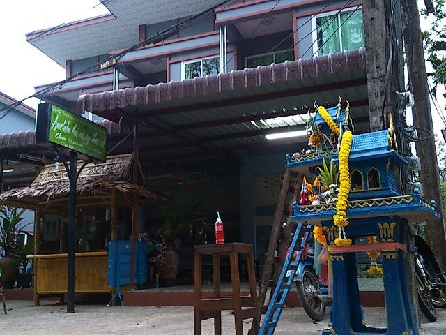 Házikók Thaiföldön, ahol szellemek élnek