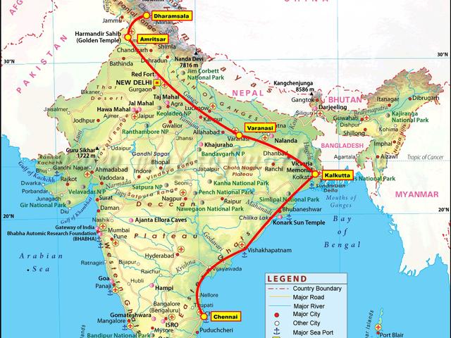 Egy nonstop 30 órás vonatút élményei Indiában