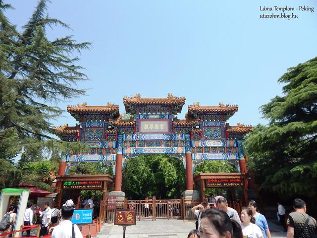 A pekingi Láma Templom