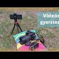 Videózási képességek - gyorsteszt    Egy Toshiba, egy Nikon, egy Galaxy