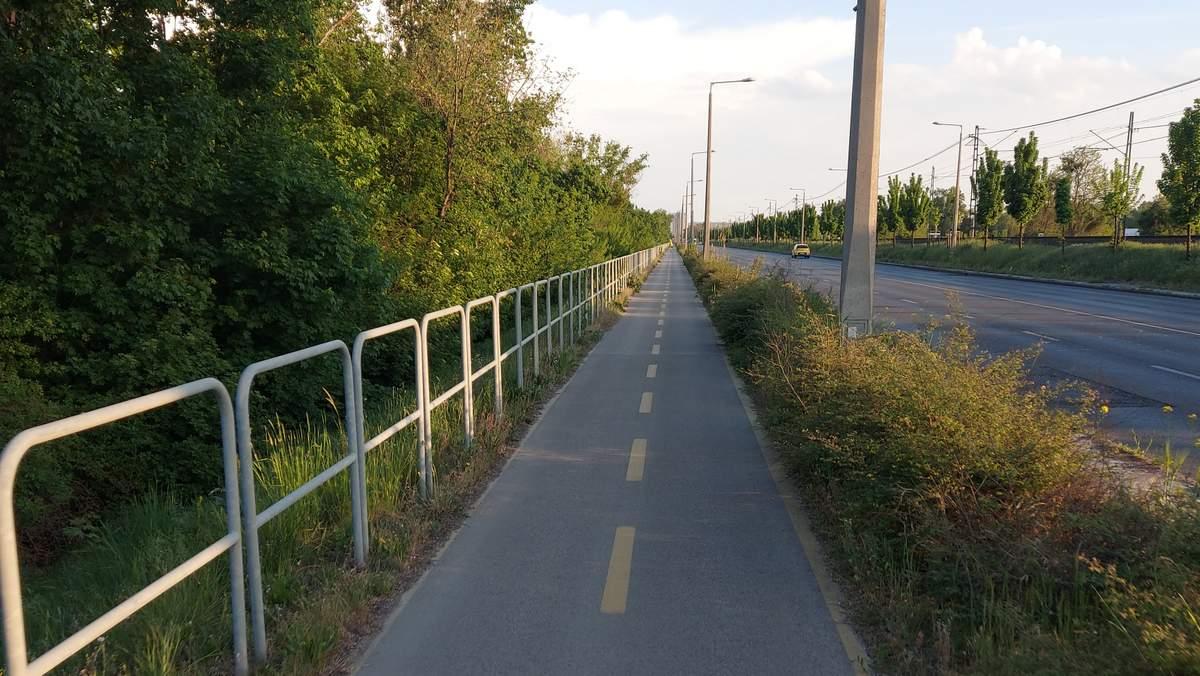 Jól kiépített kerékpár-úthálózat Csepelen