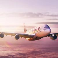 Qatar Airways díjeső