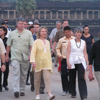 Na ma ki ment el előttem négy méterrel az Angkor templomoknál??