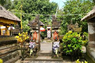 Bali, Indonézia : Látogatóban egy tradicionális balinéz otthonban