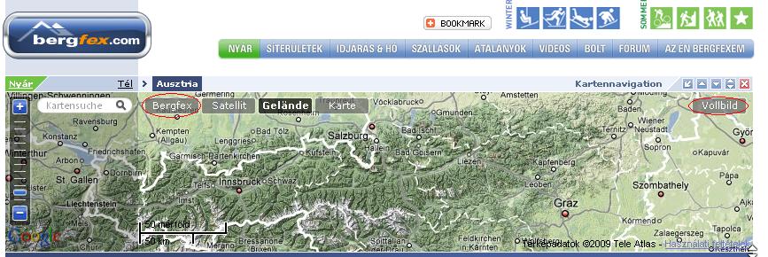 ausztria turista térkép Teljes Ausztria turistatérkép   Úton útfélen ausztria turista térkép