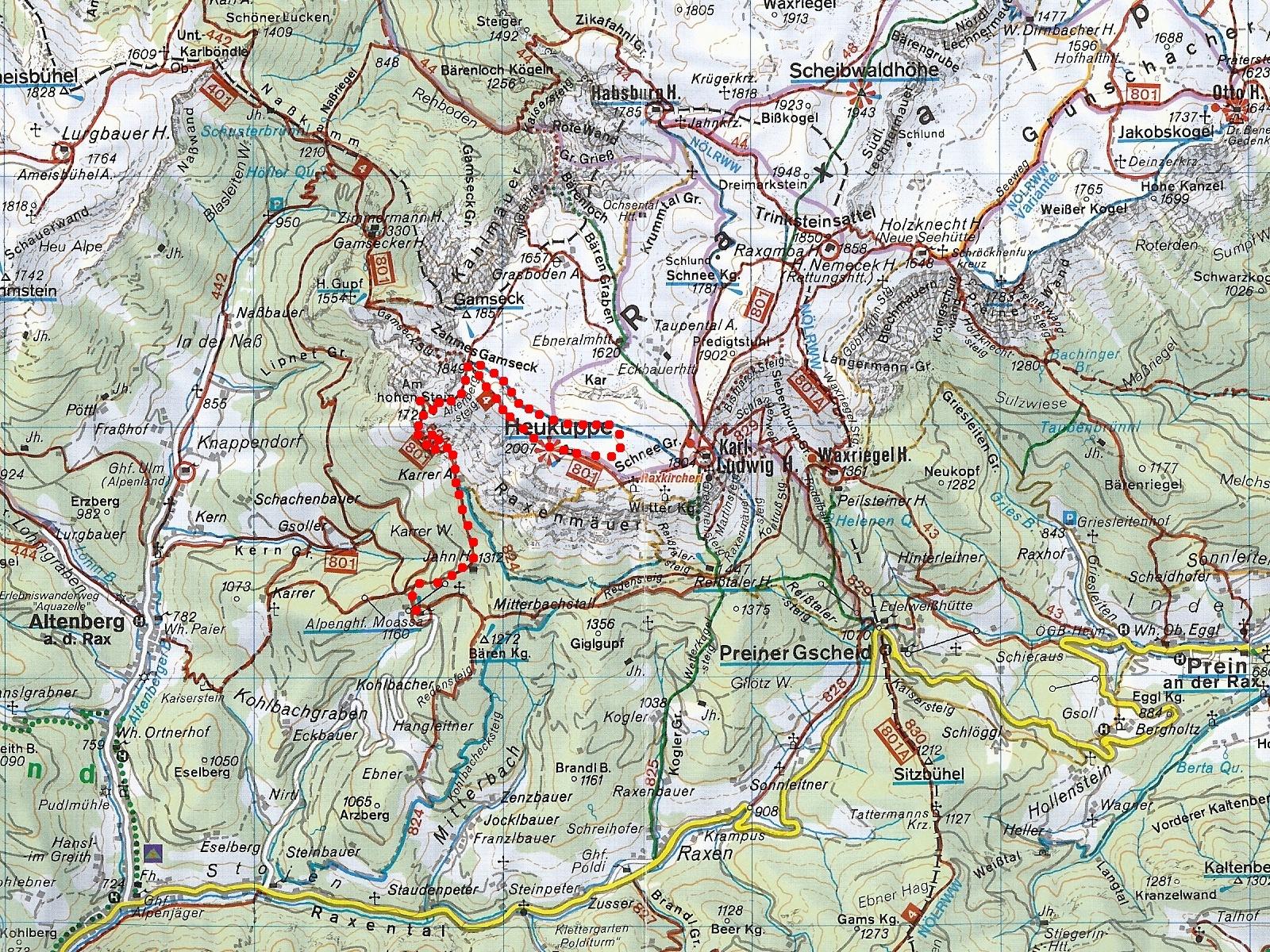 ausztria turista térkép Térképek   Úton útfélen ausztria turista térkép
