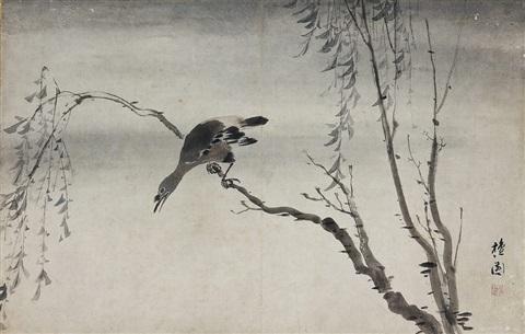 kim-hong-do-bird-on-the-tree.jpg