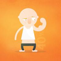 Testünknek hány százaléka izom?