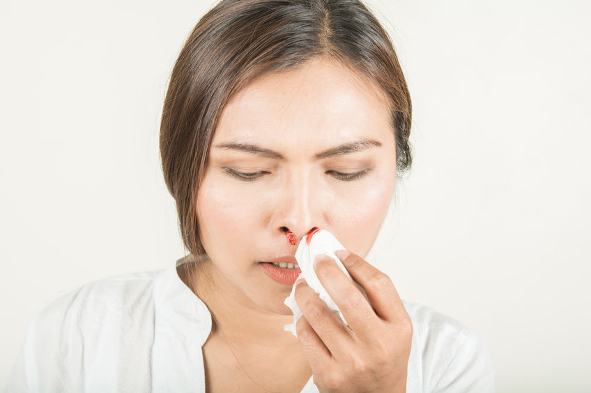 magas vérnyomás gyakran orrvérzés