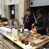Mazsola Kantin - Restaurant Day, 2013 február