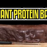 Pénteki light, avagy baconos protein bar