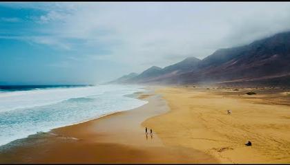 Ilyen egy világvége strand!