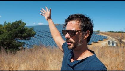 Ilyen egy óriási napelemtelep