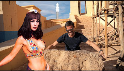 Itt forgatták a Kleopátrát és a Gladiátort