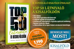 Top 50 látnivaló a Kisalföldön