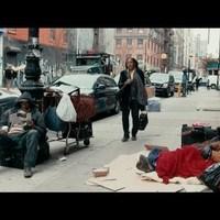 adománygyűjtő kampány New Yorkban hajléktalanok megsegítéséért