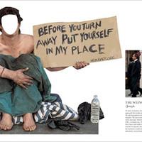 Lefotóznád magad hajléktalanként?