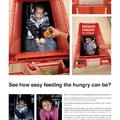 Éhező gyerekek a bevásárlókocsiban