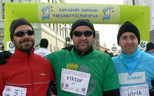 iramszarvas, Vitja és Ulrik a rajt előtt.