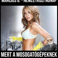 A magyar nőnap csupa ellentmondás...