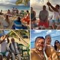 Fiatalok világnapja: Hamispróféta püspöke tengerparton, fürdőnadrágban tart Oltáriszentséget