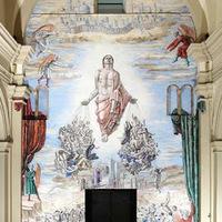Homoerotikus festményt készíttetett katedrálisában a Pápai Életvédő Akadémia új elnök érseke - a képen ő is szerepel