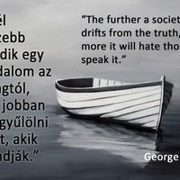 Tíz 2014-et idéző Orwell idézet