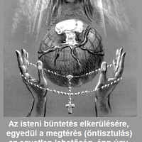 Az isteni büntetés elkerülésére, egyedül az öntisztulás...