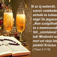 Bizalommal Új Esztendőben Krisztussal!
