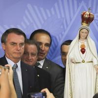 Brazília elnöke is Mária Szeplőtelen Szívének ajánlotta országát