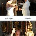 Sokkoló képek: Homoszex pszeudo házasság az osztrák templomban