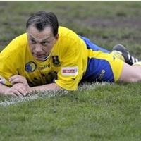 A foci mint bográcsgulyás